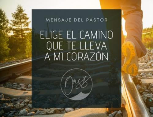 Mensaje del Pastor Gómez / Bifurcación en el camino.