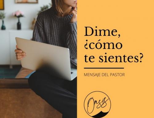 Mensaje del Pastor Gómez: Te sostengo/sujeto cerca.