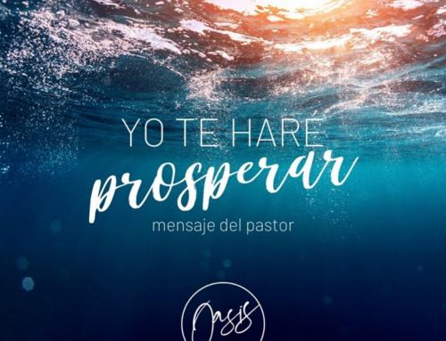Mensaje del Pastor / Bendición de José.