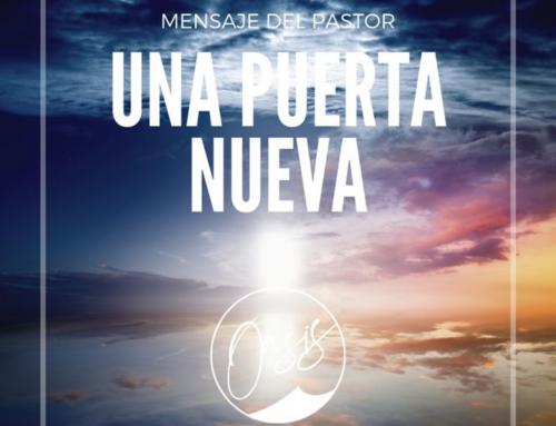 Mensaje del Pastor Gómez / Puerta abierta