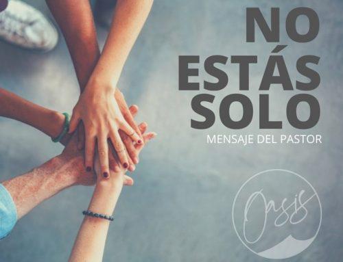 Mensaje del Pastor Gómez / Consuelo del Pastor